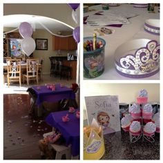 sophia the first party ideas
