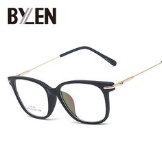 Fair price Retro square eyeglasses frames for women Nerd Glasses optical Metal eye glasses TR90 Eyewear oculos de grau femininos 6 colors just only $6.00 with free shipping worldwide  #womanaccessories Plese click on picture to see our special price for you