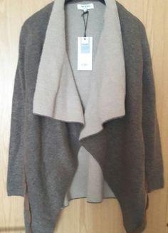 Kaufe meinen Artikel bei #Kleiderkreisel http://www.kleiderkreisel.de/damenmode/cardigans/148552479-brauner-kuscheliger-cardigan-mit-ledergurtel