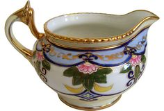 Hand-Painted Nippon Creamer