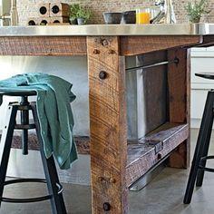 Unique Kitchen Island Designs