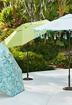 Take cover. Impenetrable sun protection from umbrellas done in 43 cool ways....