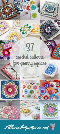 37 Granny Square Crochet Patterns