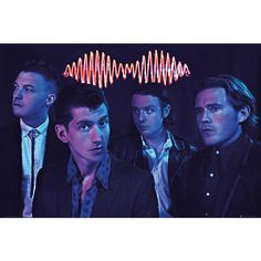 Arctic Monkeys - Group Poster - 36x24 (37 PLN) ❤ liked on Polyvore featuring home, home decor, wall art, monkey home decor and monkey wall art