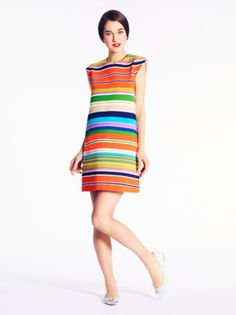 Kate Spade // striped nico dress