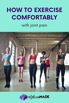 If you are suffering from joint pain, the thought of exercising may seem painful and counterproductive. But exercise has been proven to be vital to joint health. Read on to learn more about the benefits of exercising with joint pain and how to do them correctly! Fitness Goals, Fitness Tips, Keto, Muscle, Exercise, Thoughts, Workout, Learning, Health