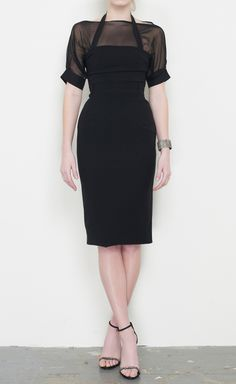 Preen by Thornton Bregazzi Black Dress