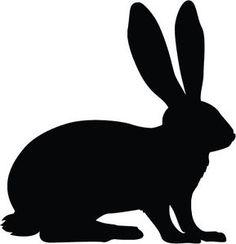 hare silhouette - Google Search