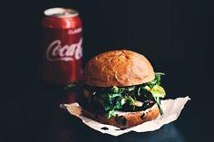 grilled vege burger