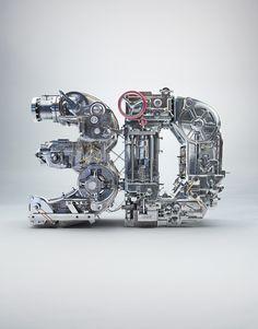 3D Machine on Behance