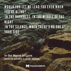 #inthenameoflove