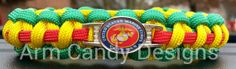 United States Marine Corps Veteran in Vietnam Colors Paracord Bracelet  #USMC #Marine #MarineCorps #MarineVeteran #USMCVeteran #Vietnam #VietnamVeteran