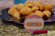 Doc McStuffins Party Food: Hallie's hot dogs