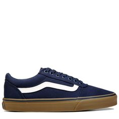 92b1d16c7cb1f Vans Men s Ward Low Top Sneakers (Navy White Gum)
