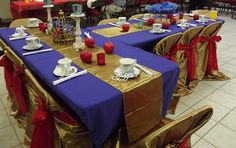 Our Snow White Tables  www.onceuponadreamteaparties.com 2nd Birthday, Birthday Parties, Birthday Ideas, Snow White Centerpiece, Storybook Party, Snow White Wedding, White Tables, Snow White Birthday, Cinderella Birthday