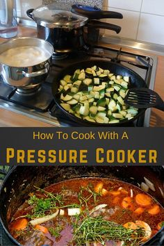 how to cook with a pressure cooker: An electronic pressure cooker will help you cook food much faster than normal and still keep all the characteristics