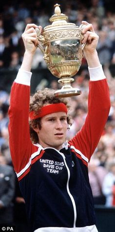 "John McEnroe...""The Boy From NYC"" Brought Us ""In Your Face"" Tennis Wins & His Fights With Officials On Court Are the Stuff Legend Is Made Of...Retired, McEnroe Is Now Older & Calmer and A Devoted Husband, Father & An Insightful Tennis Commentator...But, We'll Never Forget Either His Greatness Nor His Cockiness On The Courts!!  WTG, John!!"