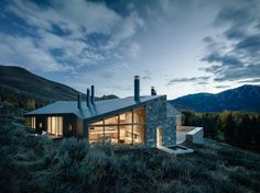 Sun Valley residence by Rick Joy Architects, Schuchart/Dow builders, Simpson Gumpertz & Heger hygrothermal peer review
