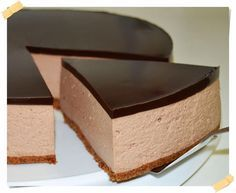 Köstliche Desserts, Chocolate Desserts, Delicious Desserts, Yummy Food, Chocolate Cake, Nutella Mousse, Mousse Cake, Baking Recipes, Cake Recipes