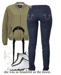 """""""8.04.16"""" by trinityannetrinity ❤ liked on Polyvore featuring Maison Scotch, CÉLINE, Retrò and True Religion"""