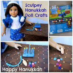 Sculpey Hanukkah Doll Crafts