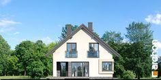 Projekt domu Dom w zdrojówkach - ARCHON+ Home Fashion, Cabin, House Styles, Home Decor, House 2, Decoration Home, Room Decor, Cabins, Cottage