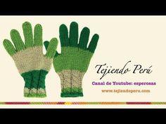 Guantes tejidos en dos agujas (Parte 1)