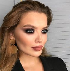 23 Trendy Makeup Looks Glam Girls Gothic Makeup, Dark Makeup, Glam Makeup, Makeup Art, Natural Makeup, Girls Makeup, Makeup Goals, Makeup Tips, Makeup Tutorials