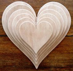 Fantastic Set Of 6 Different, Larger Sized Hand Crafted MDF 'Heart' Drawing Templates (Style 1) by Greg Ledder http://www.amazon.co.uk/dp/B00K81STI6/ref=cm_sw_r_pi_dp_luFjvb07HVB0F