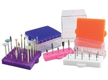 All sizes - BurButler Bur Holder Combined 5/10/25 Hole Base and Lid Silicon Dental Burs Holder Bur 1Pc All Sizes: FG RA Bur Tips Disinfection Holder Block Sterilizer Block Disinfection Clear Box Autoclave Block Disinfection Box #dentalorganiser @Dental Organiser