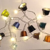 Crafting@Home: Recycled Coffee Capsule Party Lights