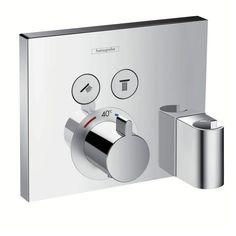 Hansgrohe ShowerSelect UP-Thermostat für 2 Verbraucher mit FixFit 15765000 - MEGABAD