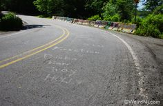 Never Get Out of Your Car On Clinton Road!  One road in New Jersey that's really terrifying is Clinton Road off Route 23 north in West Milford.  The road is well known for many mysterious occurrences and weird activity.
