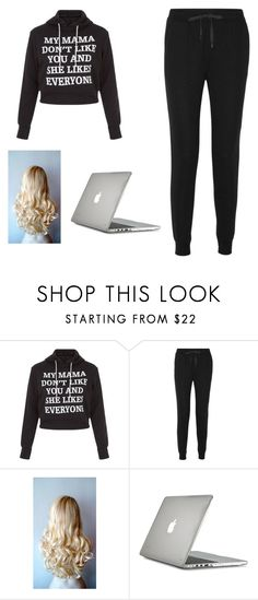 """""""Untitled #21"""" by dierksandbilly ❤ liked on Polyvore featuring New Look, T By Alexander Wang and Speck"""