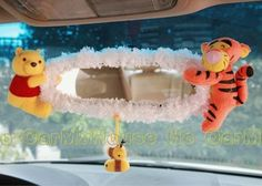 New-Winnie-the-Pooh-Car-Rear-View-Mirror-Cover