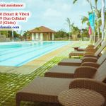 Hi Residences Swimming Pool & Lounge Area with Cabana - Bacolod House for Sale Pool Lounge, Lounge Areas, Bacolod, Condominium, Cabana, Modern Living, Swimming Pools, Studio, Outdoor Decor