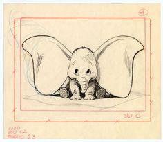 Bill Peet's Dumbo, Disney.