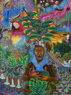 Pablo César Amaringo: Visionary Artist & Retired Peruvian Ayahuascero - Ayahuasca Shamanism Seminar / Conference, Retreat & Visionary Gathering