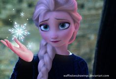 Elsa Hogwarts by WaffleDoesDrawings.deviantart.com on @deviantART