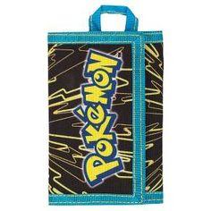 Kids' Pokemon Trifold Wallet - Black/Blue/Yellow : Target