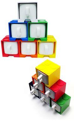 Canecas quadradas