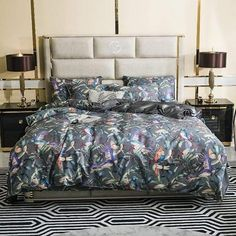 Duvet Covers, Duvet Cover Sets, Bed, Duvet, Egyptian Cotton Bedding, Cotton Bedding Sets, Bird Duvet, Room Ideas Bedroom, Flower Duvet
