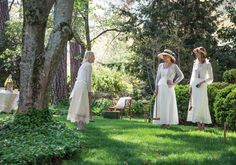 An Elegant Afternoon Playing Croquet on the Lawn - Victoria magazine