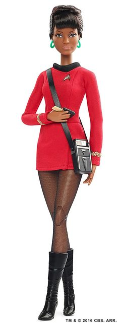 startrek2009 Barbie Barbie Star Trek 50th Anniversary Uhura Doll