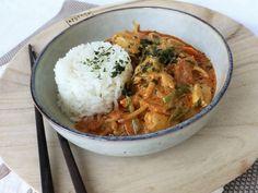 Thai Curry Erdnuss - Kokos - Hühnchen, ein tolles Rezept aus der Kategorie Geflügel. Bewertungen: 393. Durchschnitt: Ø 4,7.