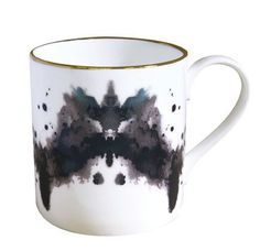 Rorschach ink blot mug