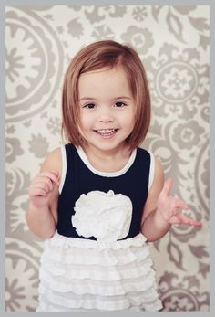 cute little toddler girl bob haircut - Google Search