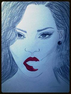 Rihanna * talanted *beautiful *different *ARTIST ;)