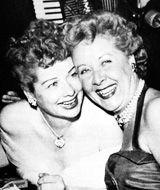Lucille Ball and Vivian Vance -- friendship!