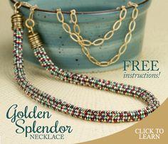 Golden Splendor Necklace